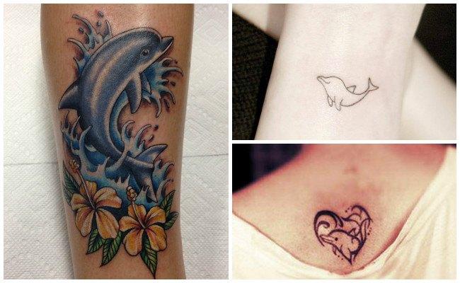 Tatuajes de delfines y su significado