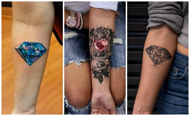 Tatuajes de diamantes y significado