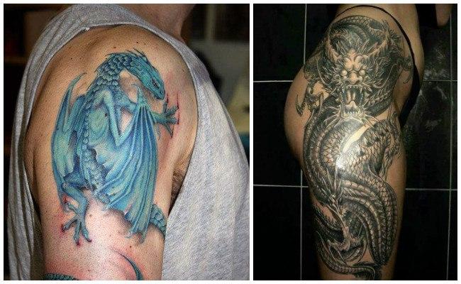 Tatuajes de dragones japones