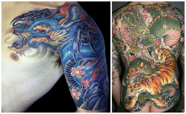 Tatuajes de dragones y su significado