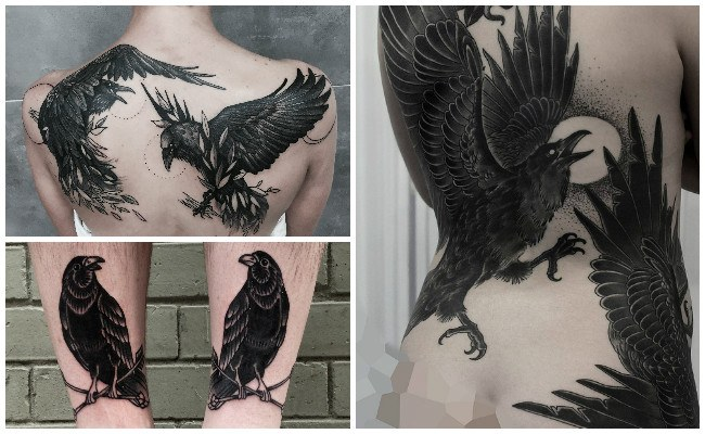 Tatuajes de el cuervo