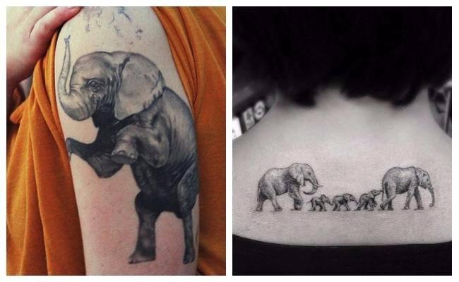 Tatuajes de elefantes de guerra