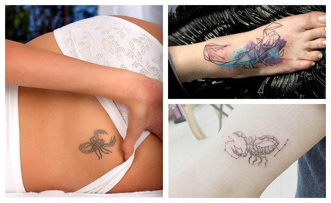 Imágenes de tatuajes de escorpiones para hombres