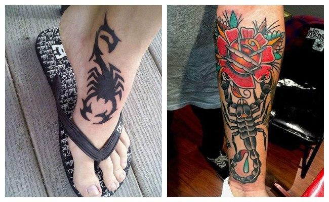 Tatuajes de escorpiones y su significado