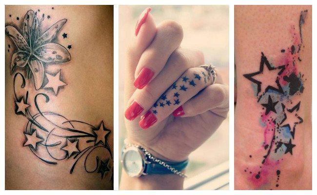 Tatuajes de estrellas para mujeres