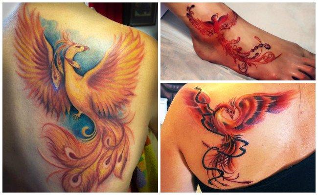 Tatuajes De Ave Fénix Para Mujeres Y Hombres Que Han Renacido