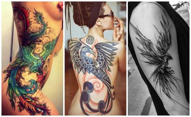 Tatuajes de fénix y significado