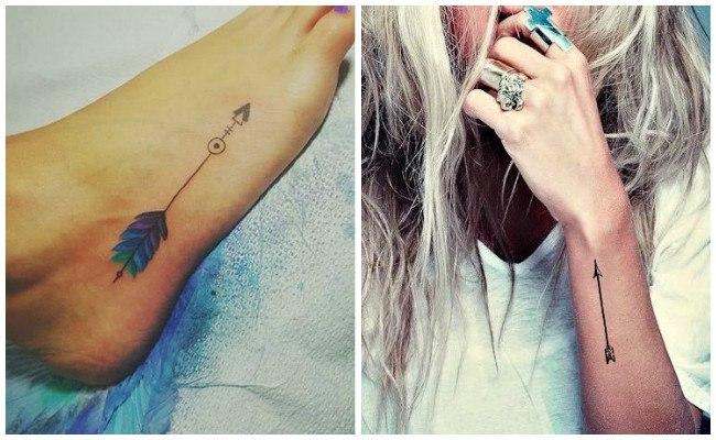 Tatuajes de flechas antiguas