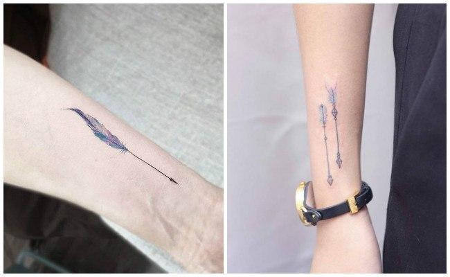 Tatuajes de flechas grandes