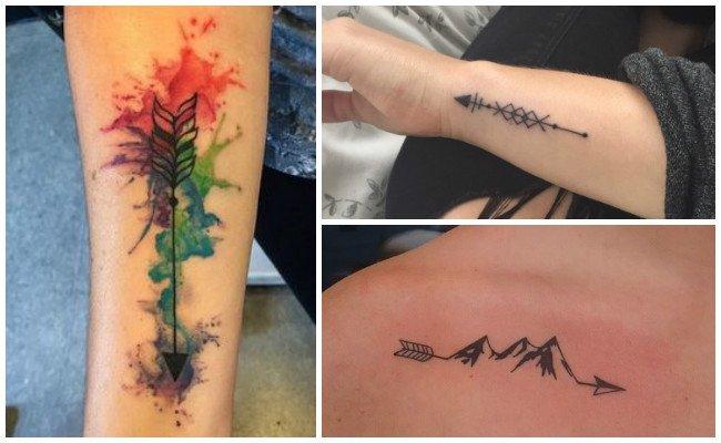 Tatuajes De Flechas Indias Y Otros Diseños Que Cortan El Viento