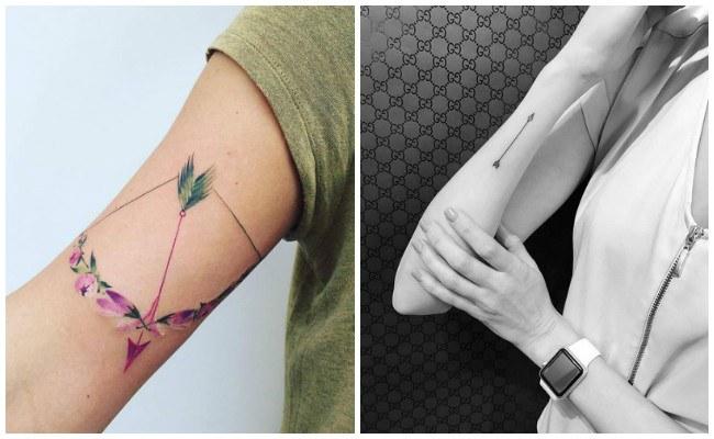 Tatuajes de flechas e ideas