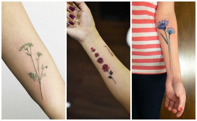 Tatuajes De Flores Con Significado Ideas Imagenes