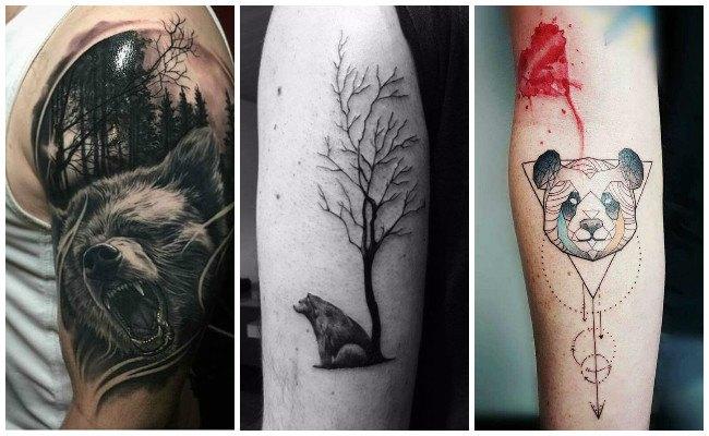 Tatuajes de garras de osos
