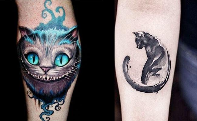 Tatuajes De Gatos Egipcios Pequenos Realistas Hombre Y Mujer
