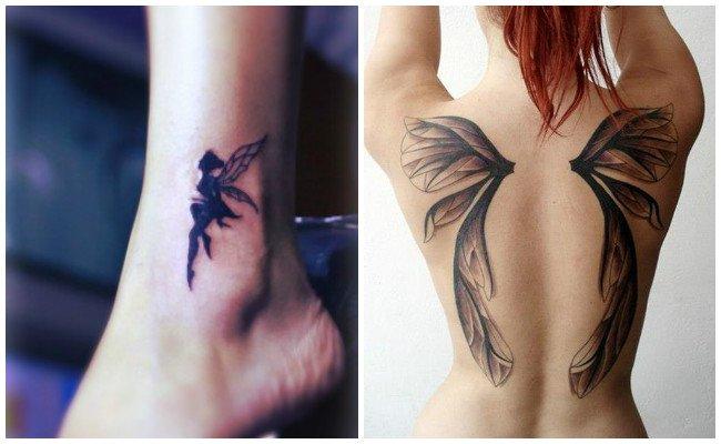 Tatuajes de hadas góticas