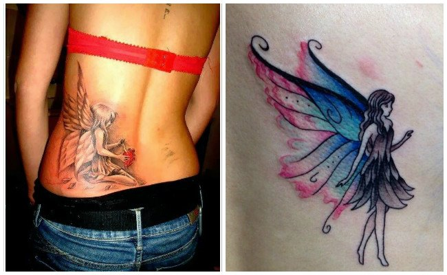 Tatuajes de hadas madrinas