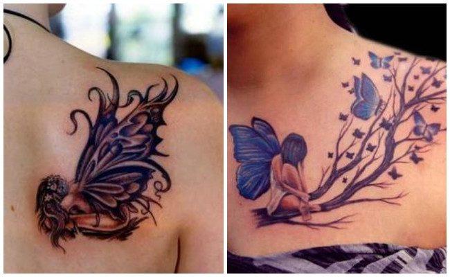 Tatuajes de hadas y ninfas