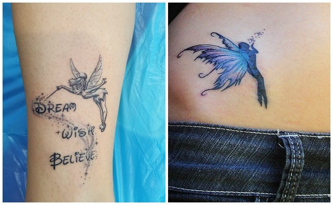 Tatuajes de hadas para mujer
