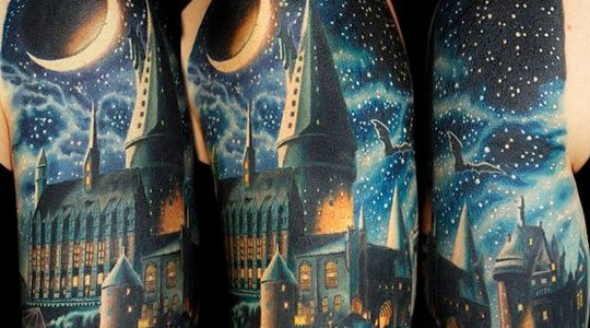 tatuajes de Harry Potter