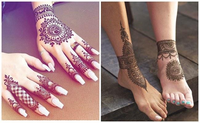 Tatuajes de henna fáciles
