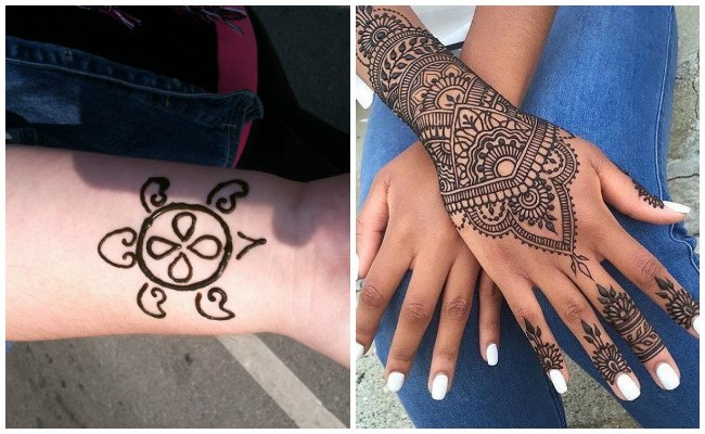 Tatuajes de henna para hombre