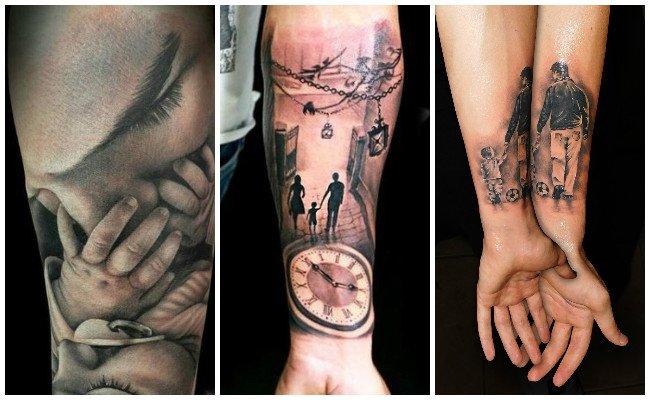 Tatuajes De Familia Y Familiares Símbolos Que Representan Familia