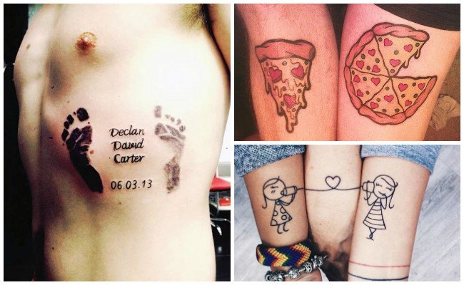 Tatuajes de hijos para mujeres