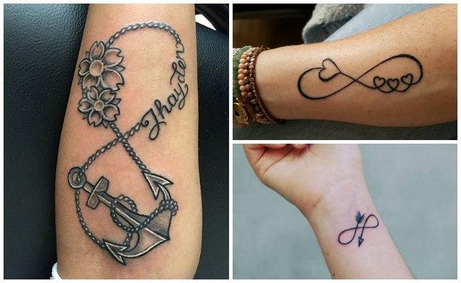 Tatuajes de infinito con estrellas