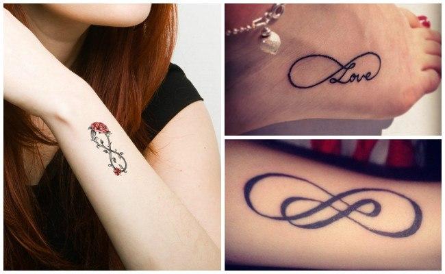 Tatuajes de infinito en la muñeca