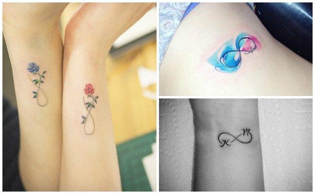 Tatuajes de infinito en el pie