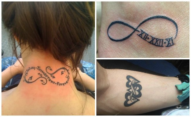 Tatuajes de infinito para mujeres