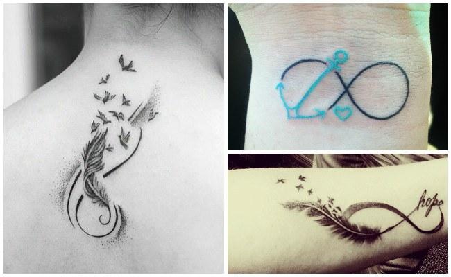 Tatuajes de infinito para parejas