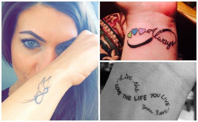 Tatuajes de infinito con significado