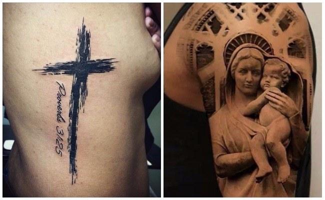 Tatuajes de Jesucristo en 3d