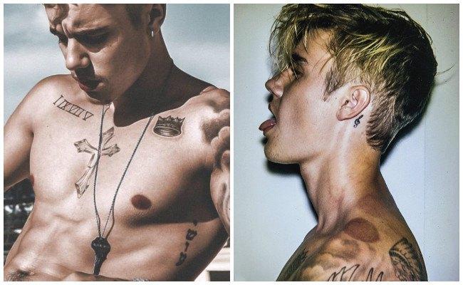 Tatuajes de justin bieber y sus imágenes