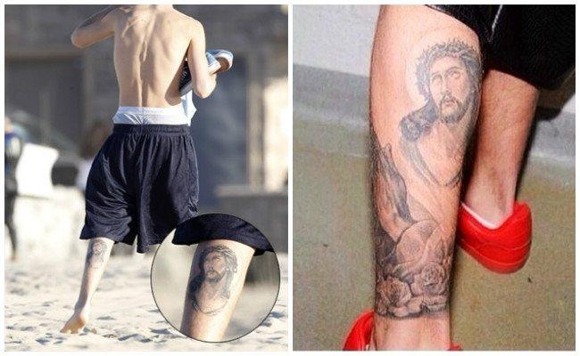 Tatuajes de justin bieber y su significado