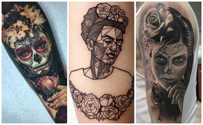 Tatuajes de la virgen de guadalupe en la espalda