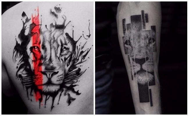 Tatuajes de leones chinos