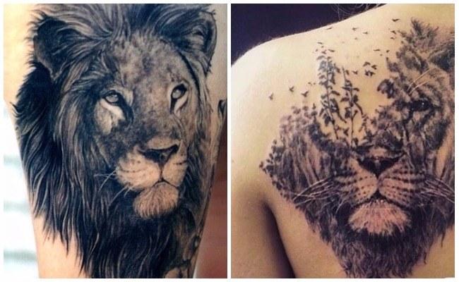 tatuajes de leones y leonas un gran recopilatorio de