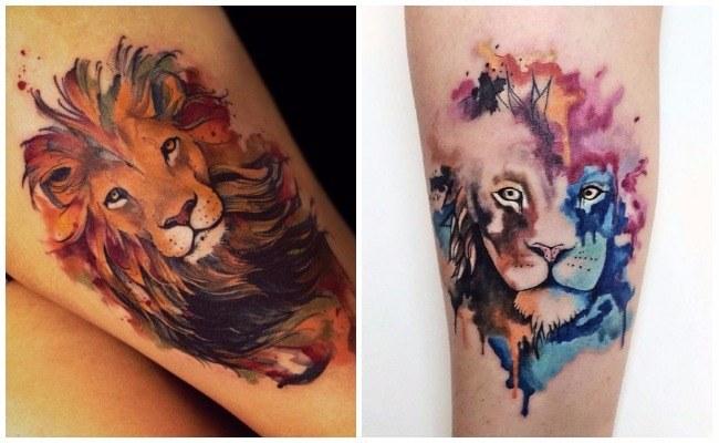 Tatuajes de leones para hombres