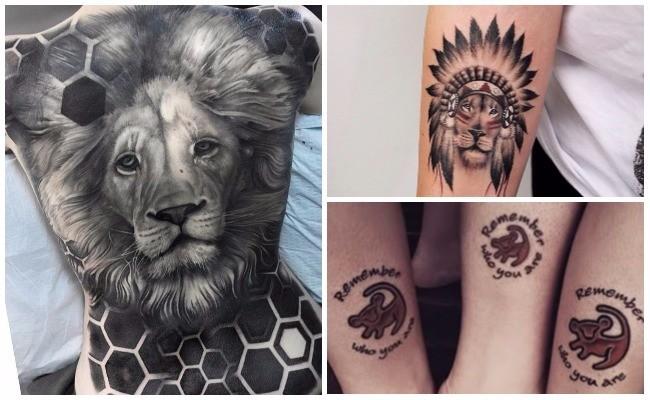 Tatuajes de leones que significa