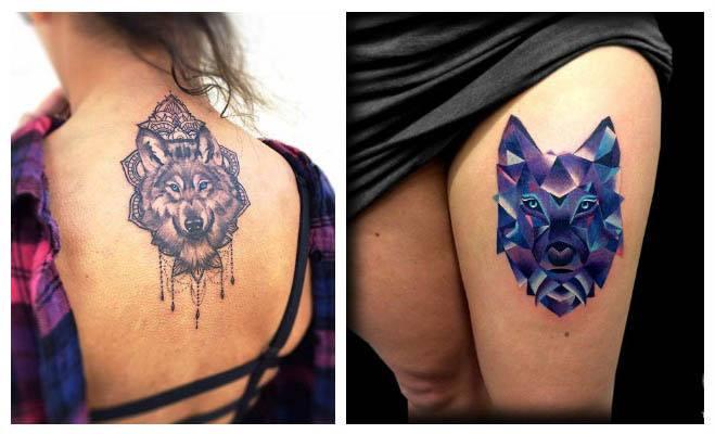 Tatuajes de lobos con atrapasueños significado