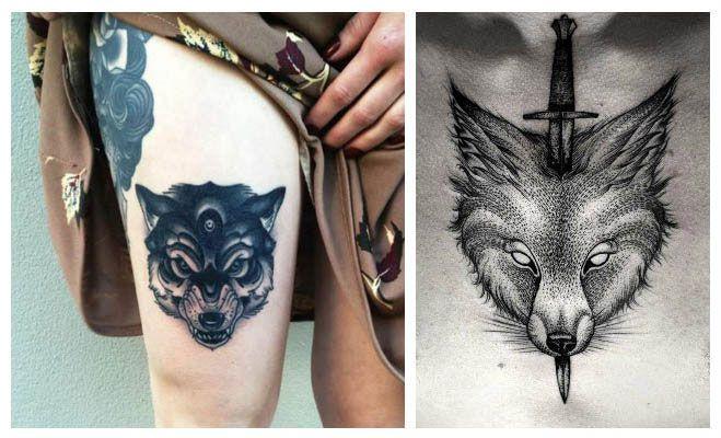 Tatuajes de lobos cachorros