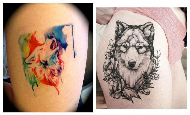 Tatuajes de lobos originales