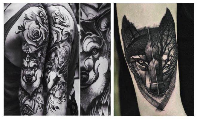 Todos Los Tatuajes De Lobos Y Significados Mujeres Y Hombres