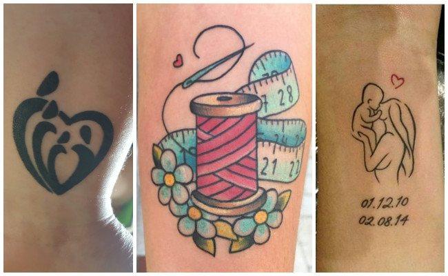 Tatuajes de madres e hijos