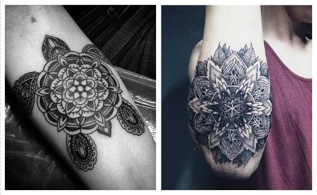 Tatuajes de mandalas de animales