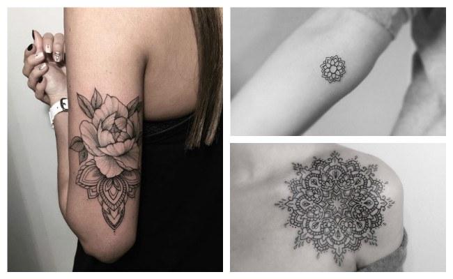 Tatuajes de mandalas en el antebrazo