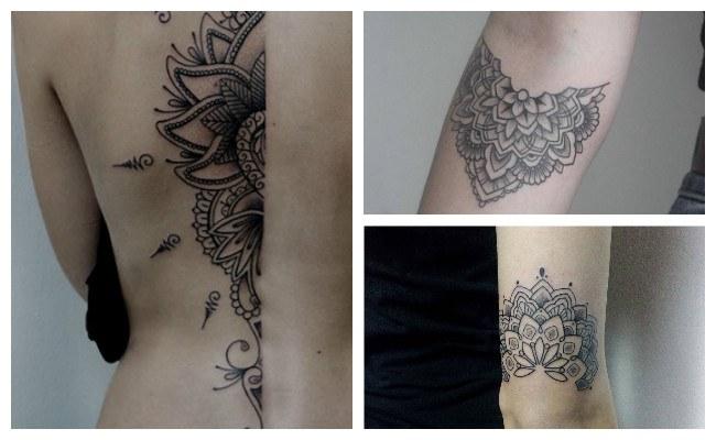 Tatuajes de mandalas atrapasueños