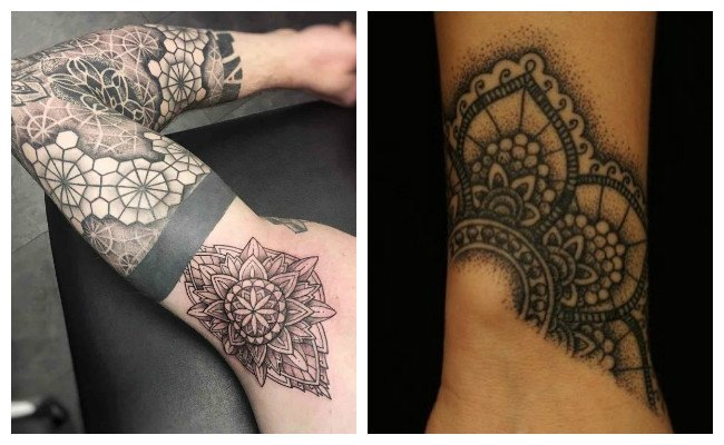 Tatuajes de mandalas budistas
